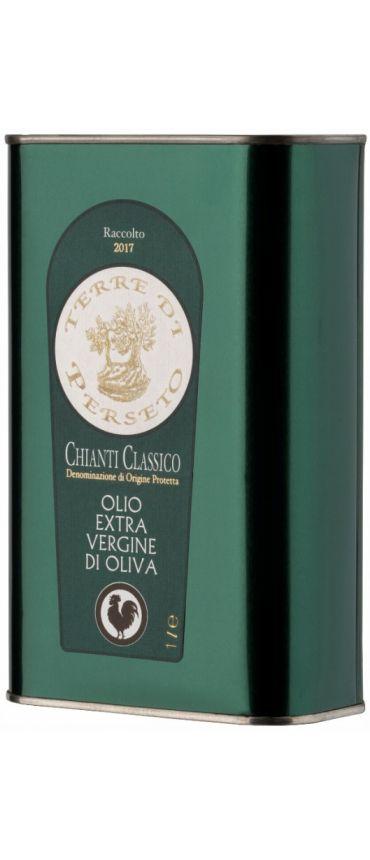 1 LITRO Olio DOP Extra Vergine d\'Oliva Chianti Classico - LATTINA DA 1 LITRO