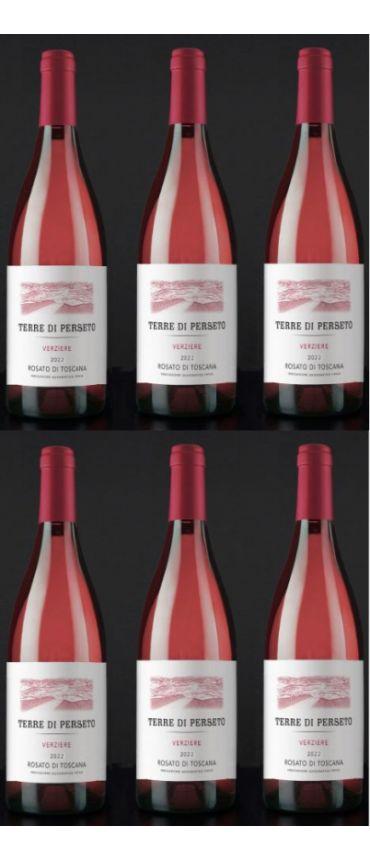 6 Verziere - IGT Toscana Rosé - YEAR 2018