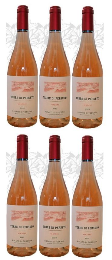 6 Verziere - IGT Toscana Rosé - YEAR 2020