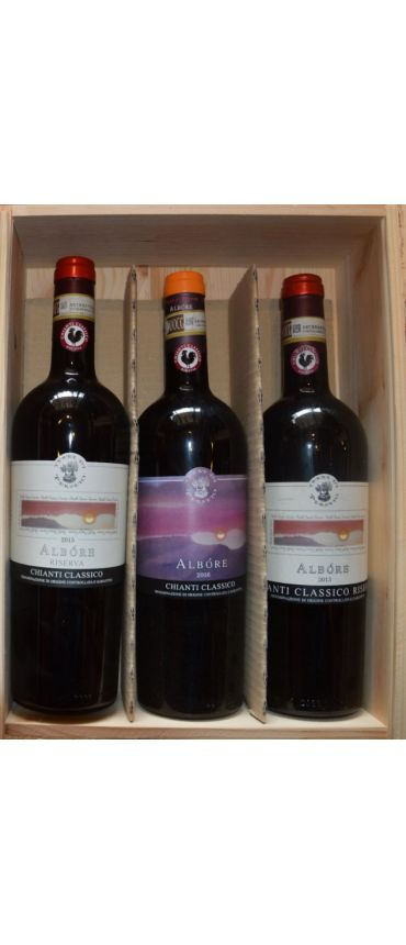 DISCOVERY WOOD CASE 3 CHIANTI CLASSICO WINES