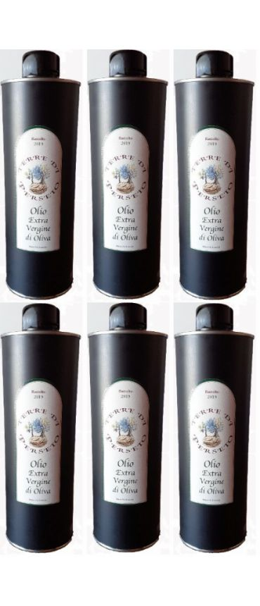 6 bottles (750ML/each) Extra-Virgin Olive Oil \'Terre di Perseto\' - 750 ML / each bottle