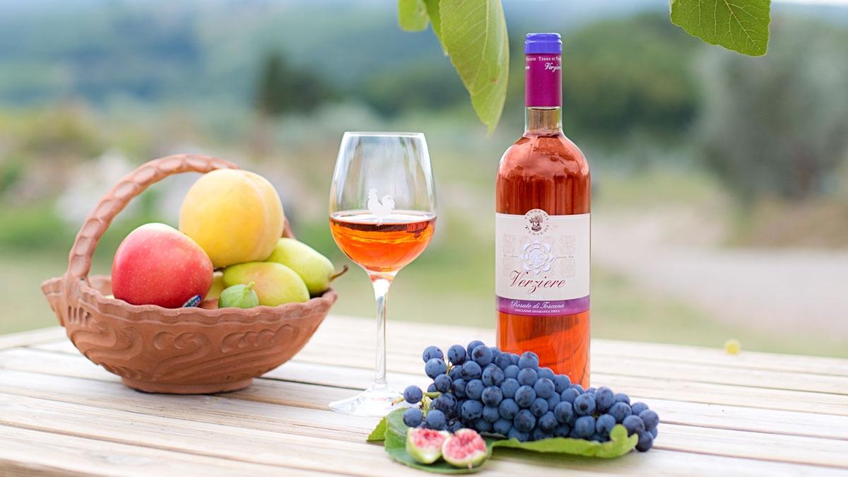 6 Verziere - IGT Toscana Rosato - ANNATA 2018