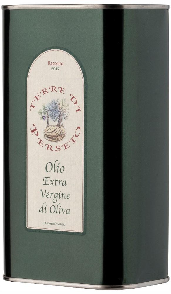 Olio Extra Vergine d\'Oliva - LATTINA DA 1 LITRO