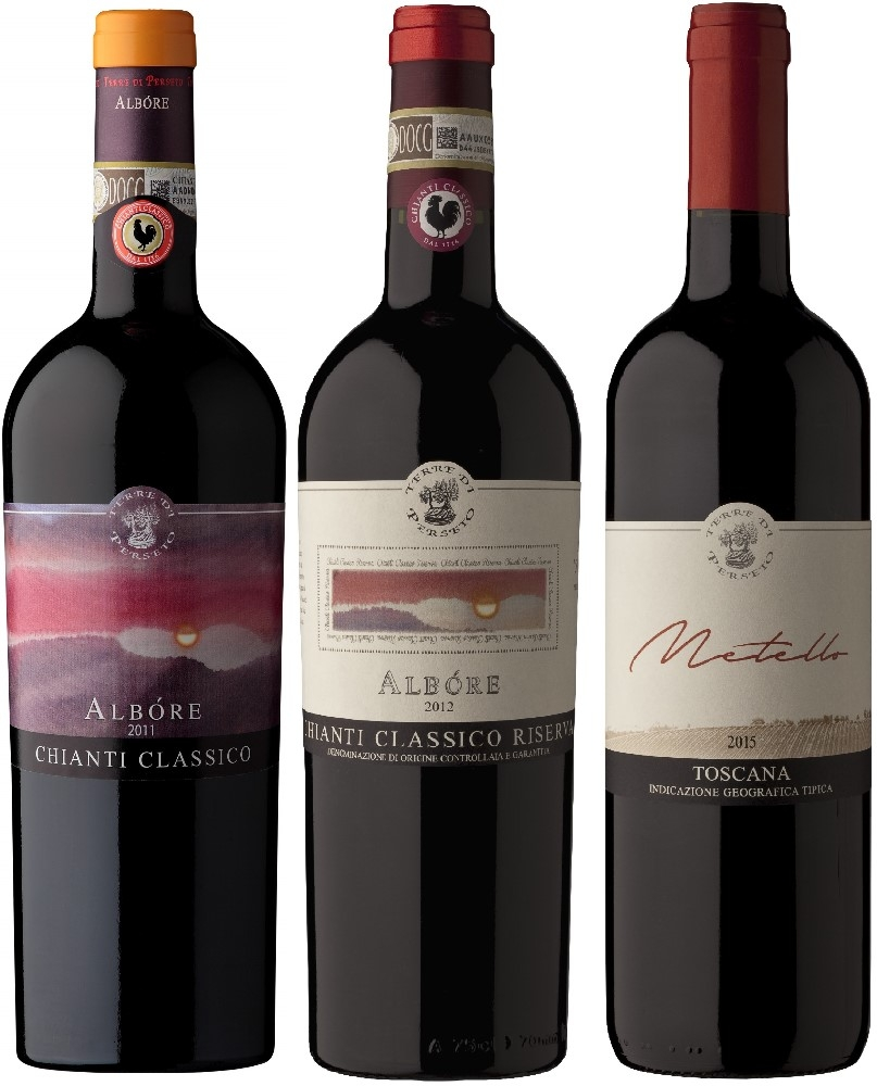 3 REDS TASTING PACKAGE (CHIANTI CLASSICO and IGT wines)