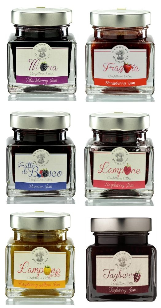 6 EXTRA RICH JAMS - Various flavors