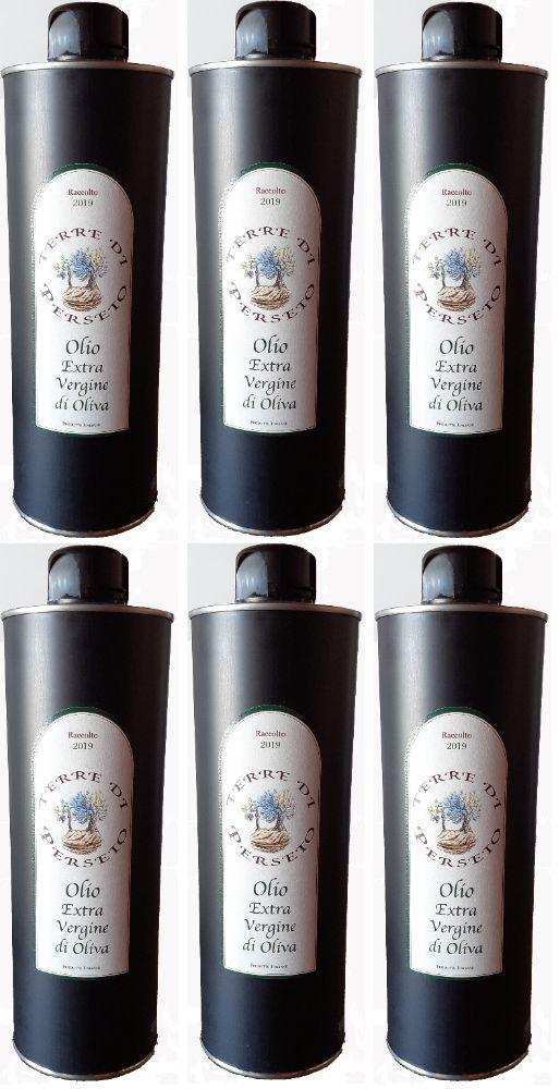 6 bottles (500ML/each) Extra-Virgin Olive Oil \'Terre di Perseto\' - 500 ML / each bottle